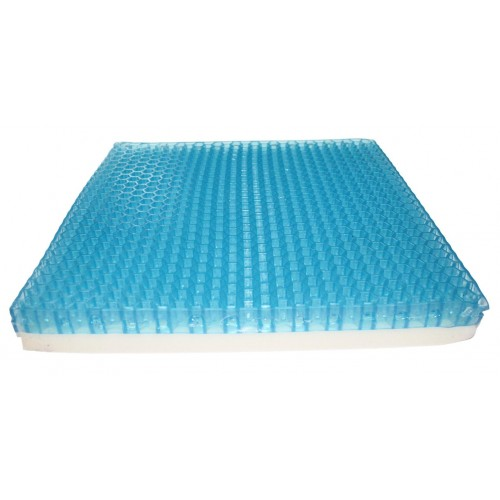 Gel cushion for preventing bedsore (hive cross type)