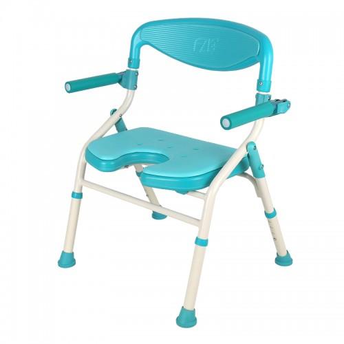 Aluminium U-Shape Foldable Shower Chair