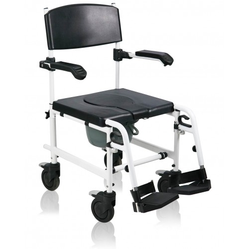 Aluminum Multi Functions Commode Chair FHA-HT-FS002
