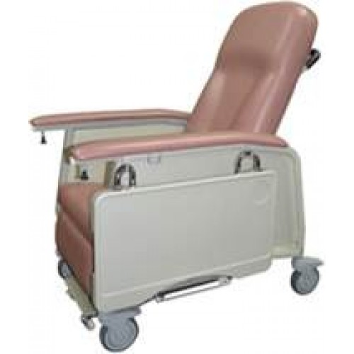 Geriatric Chair Full Rec line and with 3 Position Locking System FHA-UM-R7001